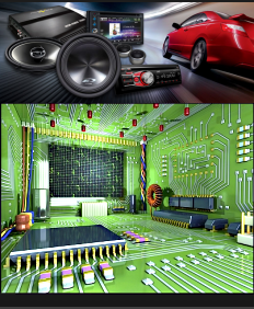 Электроника для дома и авто